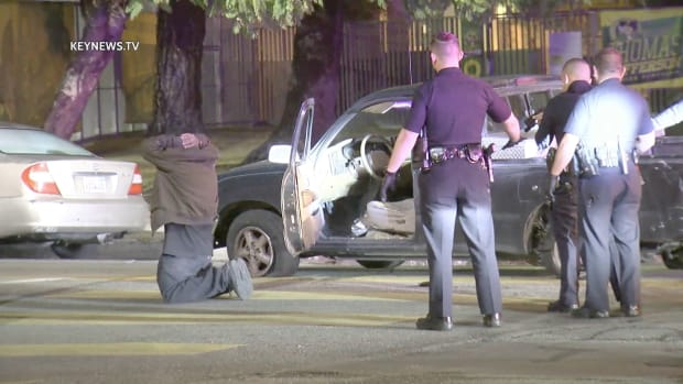 Stolen Vehicle Suspect in Custody After Spike Strip Ends Pursuit