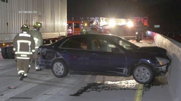 Female Found Dead on 60 Freeway