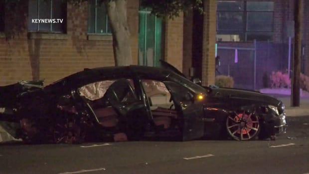 Fatally Shot Victim Crashes Vehicle