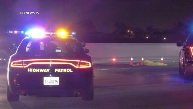 Bicyclist Fatality on 60 Freeway