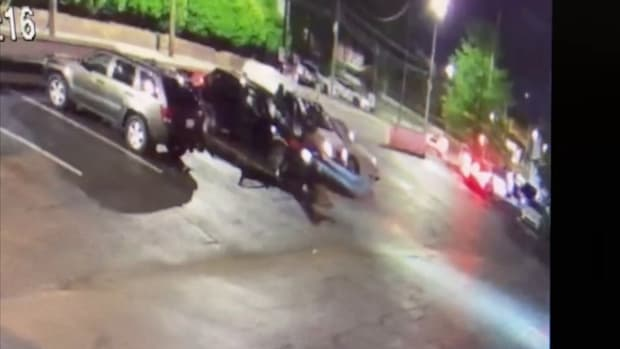 CMPD releases video after more than 50 shots fired near hook