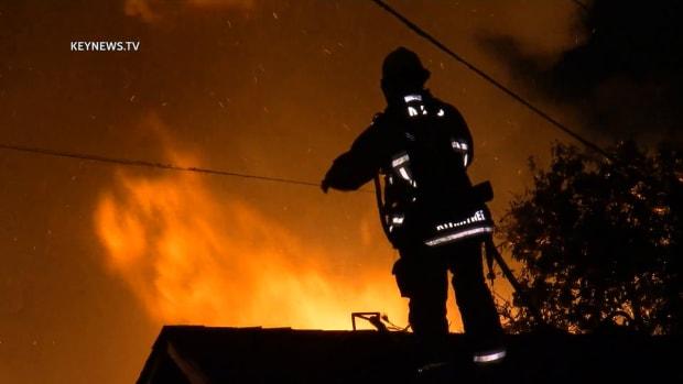 South LA Garage Fire