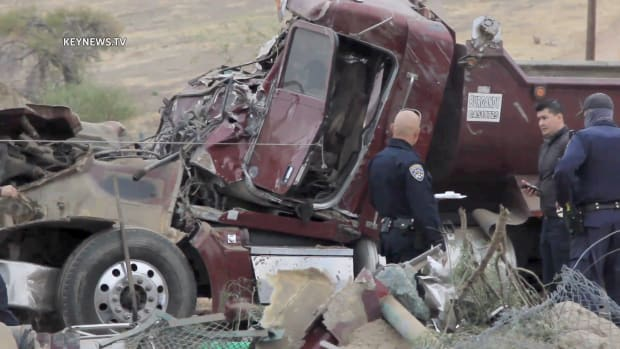 Fatal Gravel Truck Crash