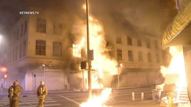 Major Emergency 3rd Street Fire