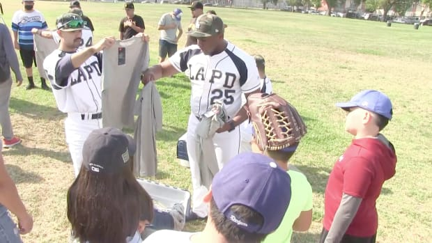 LAPD Pacoima Father's Day Event
