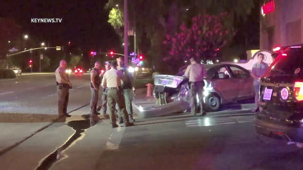 Sheriff's Department Deputy Invloved in Valencia Collision