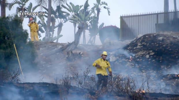 Pomona 2-Acre Brush Fire