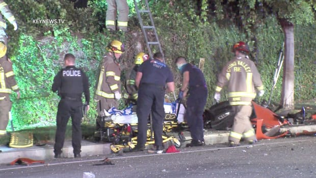 1 Dead 2 Hospitalized after Ejection Collision