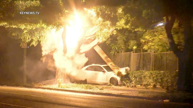 Hit-and-Run into Lincoln Heights Power Pole
