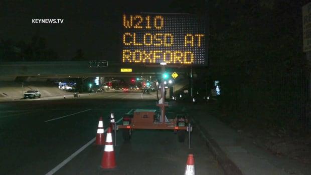 Caltrans Full Closure of I-210