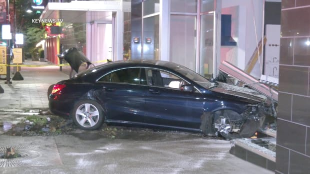 Vehicle Crashes into Pirch Storefront in Glendale