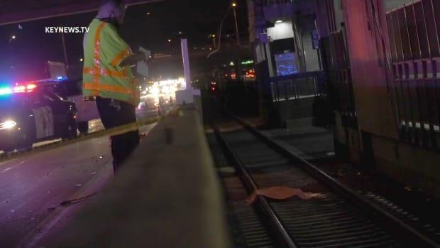 Pasadena Pedestrian Fatality Involves Vehicle and Train