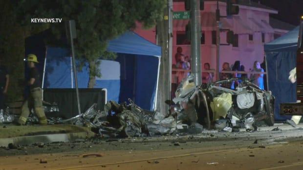Burbank Fatal High-Speed Collision