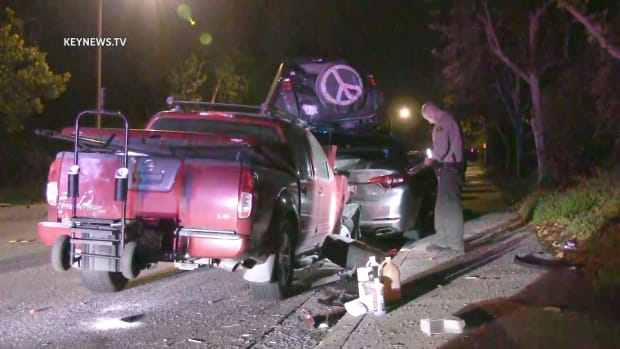 Deputies Respond to Santa Clarita Hit-and-Run