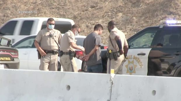 Driver Arrested After Collision on 5 Freeway in Hasley Canyon