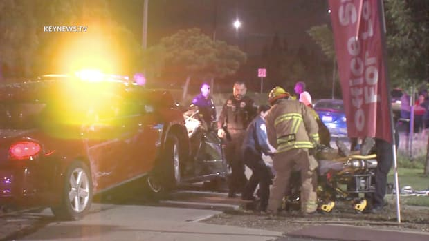 Firefighters Extricate Patient After Montclair Collision