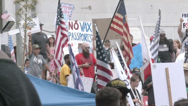 Demonstration Against Mandatory Coronavirus Vaccines and Passports