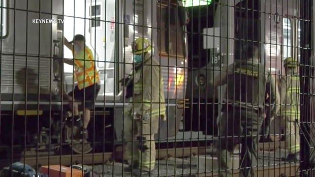 Metro Gold Line Fatal Pedestrian Collision in Monrovia