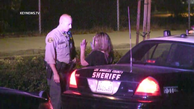 Deputy Returns Woman to Scene of Hit-and-Run Crash in Newhall