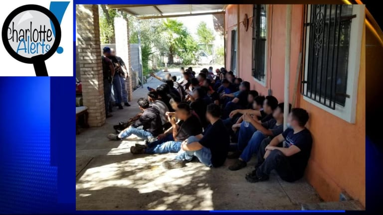 OVER 50 ILLEGAL IMMIGRANTS LIVING IN SMUGGLING HOUSE
