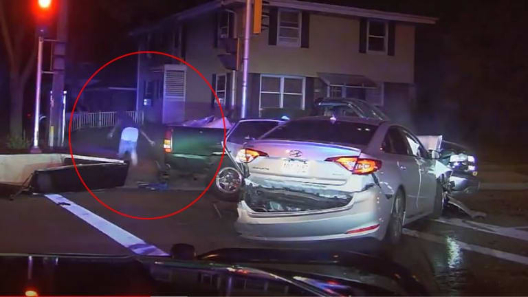 VIDEO: POLICE OFFICER GETS SHOT IN CHEST AT POINT BLANK RANGE
