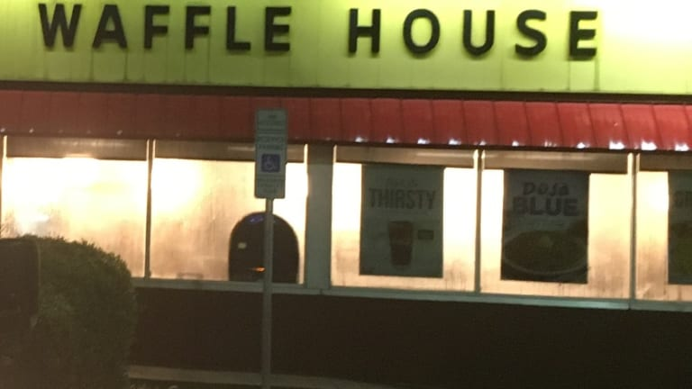 MURDER AT WAFFLE HOUSE, ONE MAN SHOT AND KILLED