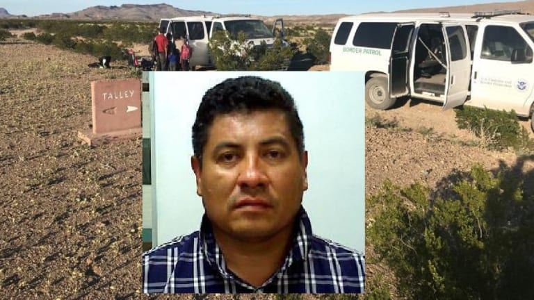 BORDER PATROL ARRESTS UNDOCUMENTED IMMIGRANT WHO IS A CONVICTED FELON