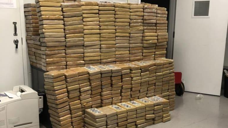 $31 MILLION COCAINE BUST, ENOUGH COKE FOR A SNOW STORM