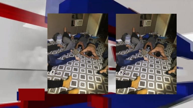 16 UNDOCUMENTED IMMIGRANTS FOUND LIVING IN ILLEGAL STASH HOUSE