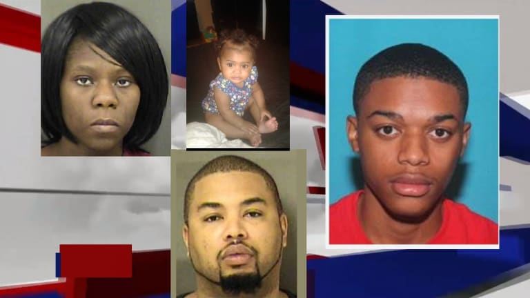 YOUNG WOMAN KILLED INSIDE APARTMENTS, SUSPECT ON THE RUN WITH BABY AND KIDS