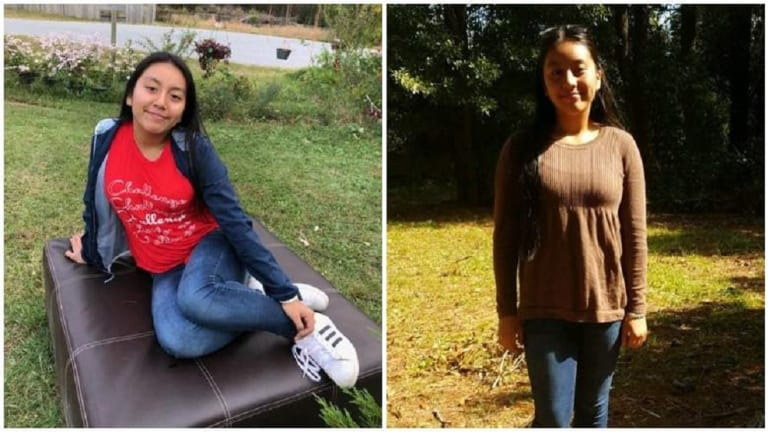 13-YEAR-OLD KIDNAPPED GIRL FOUND DEAD IN WOODS