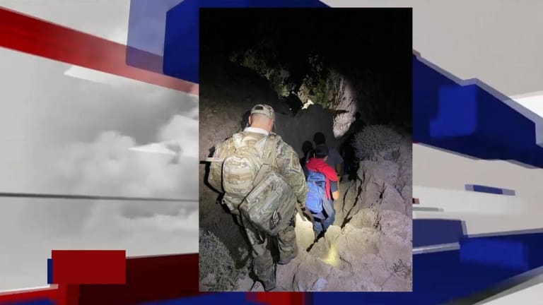 FOUR ILLEGAL IMMIGRANTS GETS LOST IN MOUNTAINS TRYING TO ENTER UNITED STATES