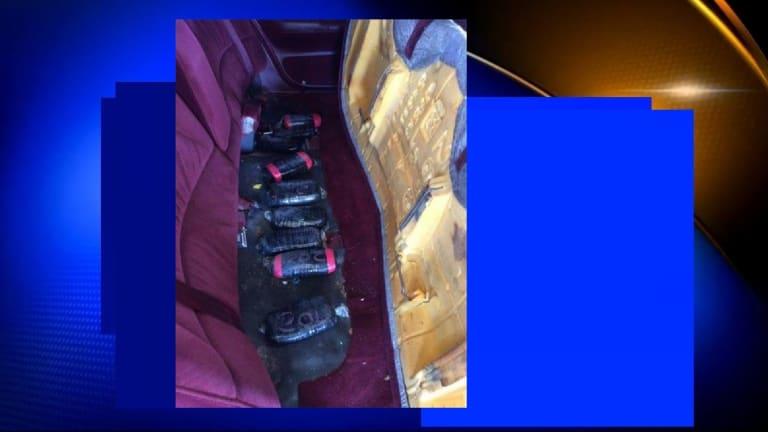 TEXAS BORDER PATROL AGENTS SEIZE $227K WORTH OF HEROIN