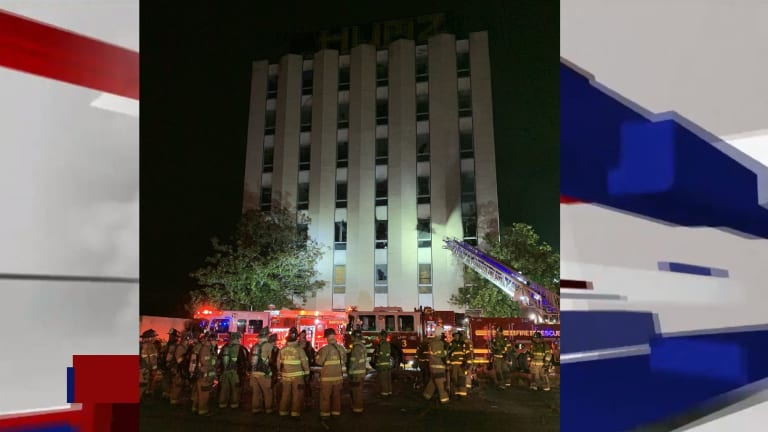 FIRE AT MULTI STORY BUILDING ON INDEPENDENCE BLVD.