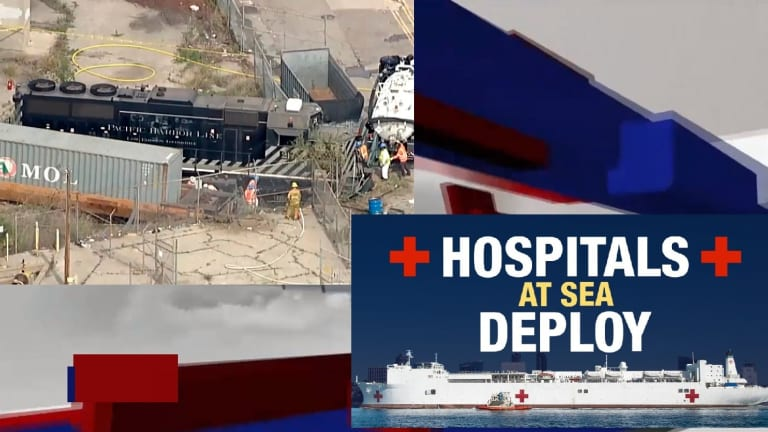 LOS ANGELES TRAIN OPERATOR INTENTIONALLY DERAILS MOVING TRAIN TO HIT NAVY SHIP