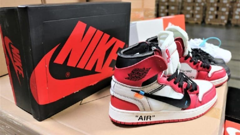 $2.2 MILLION WORTH OF FAKE NIKE SHOES SEIZED IN LOS ANGELES