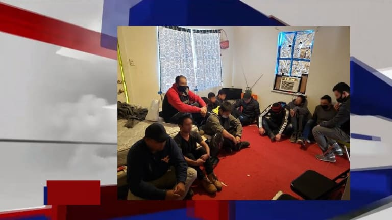 NEARLY 2 DOZEN UNDOCUMENTED IMMIGRANTS ARRESTED IN HARBORING CASE
