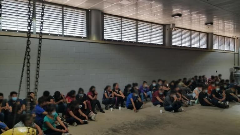 OVER 100 ILLEGAL IMMIGRANTS FOUND IN STASH HOUSE AND 18-WHEELER TRUCK