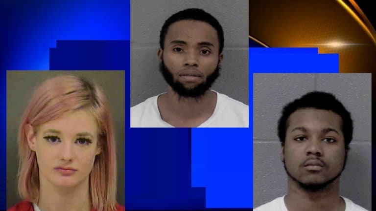 MAN ARRESTED CHARGED WITH MURDER OF MAN AND SHOOTING WOMAN