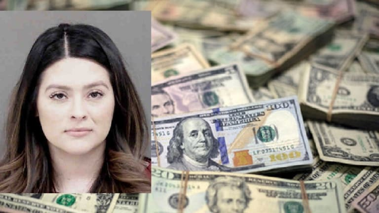 WOMAN STEALS $9,000 FROM LAW FIRM, CHARGES STATE
