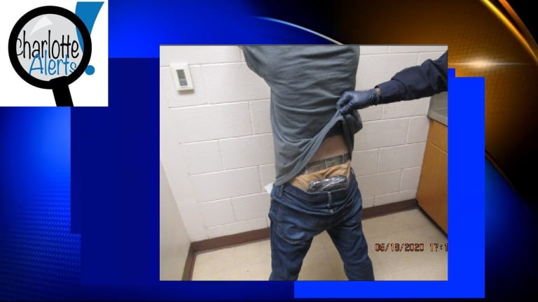 MAN HID DRUGS IN HIS WAIST, CONSISTING OF METHAMPHETAMINE, HEROIN, AND OXYCODONE