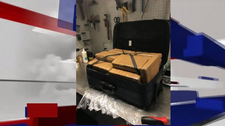 $1.3 MILLION IN COCAINE FOUND IN BAG AT JFK AIRPORT IN NEW YORK