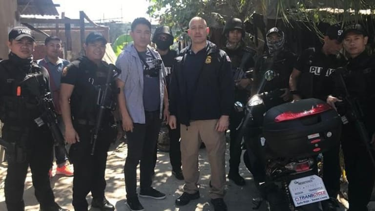 ICE RESCUES 9 TRAFFICKED VICTIMS DURING PHILIPPINE CYBERSEX OPERATION