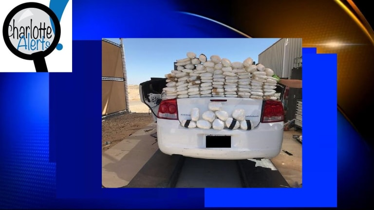 WOMAN HAD CAR FULL OF METHAMPHETAMINE WHILE TWO CHILDREN WERE INSIDE
