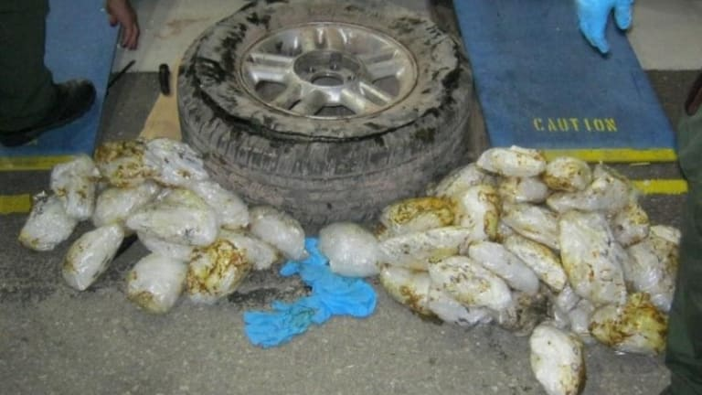 MOTHER CAUGHT WITH $179,352 IN METHAMPHETAMINE WHILE HER CHILD WAS IN CAR