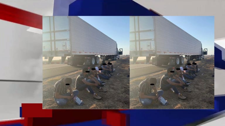 FREIGHT LINER TRUCK USED TO SMUGGLE ILLEGAL IMMIGRANTS INTO USA