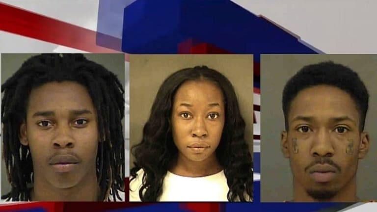 ARMED ROBBERS GET $3,140 CASH AND GET AWAY