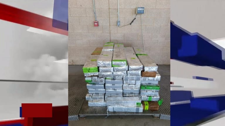 $30 MILLION WORTH OF METHAMPHETAMINE HID IN COMMERCIAL SHIPMENT OF ONIONS