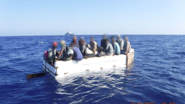COAST GUARD REPATRIATES 17 MIGRANTS BACK TO CUBA
