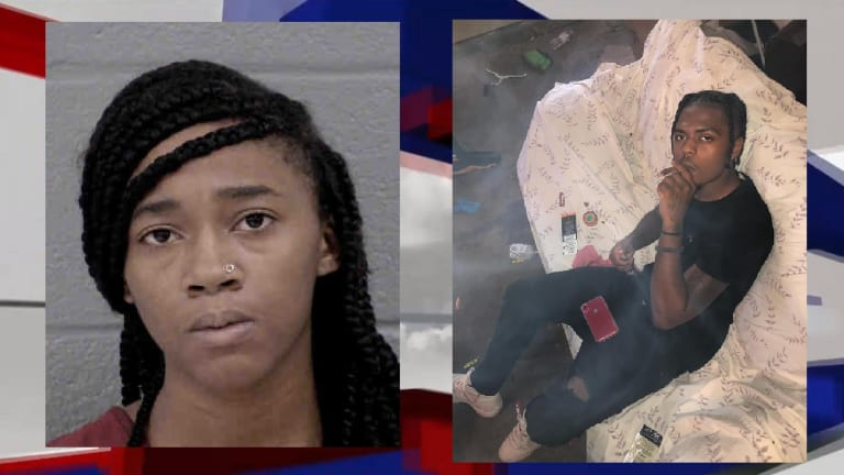 TEENAGE GIRL ARRESTED ON CHARGES OF MURDERING MAN IN ALLEGED ROBBERY